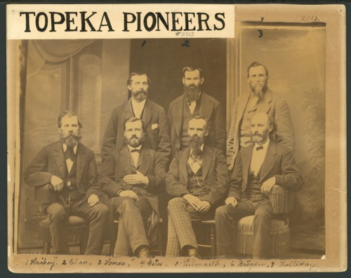 Early citizens and leaders of Topeka, Kansas - Page