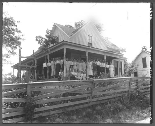 Cramer family reunion, Allen County, Kansas - Page