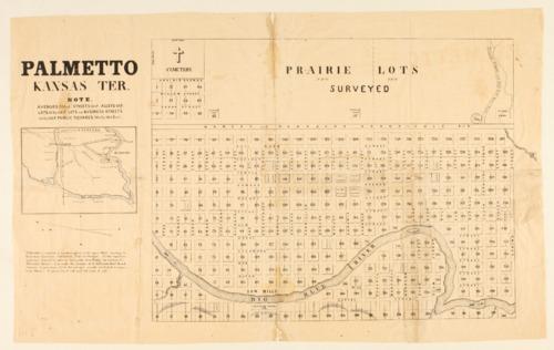 Palmetto, Kansas Territory - Page