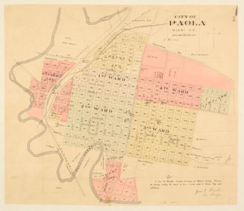 Paola, Kansas - Page