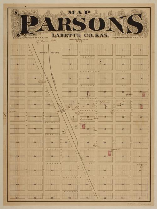 Parsons, Labette County, Kansas - Page