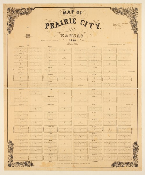 Map of Prairie City, Kansas - Page