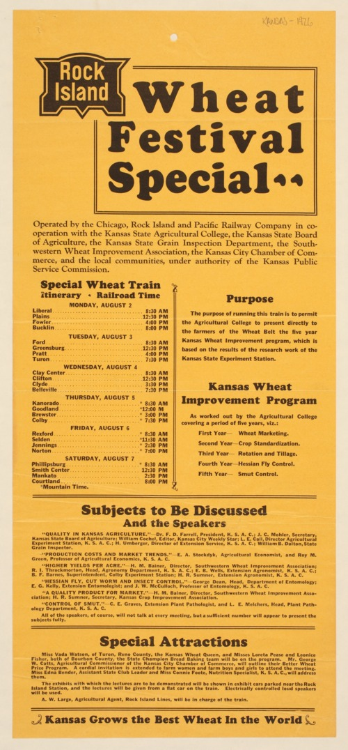 Rock Island wheat festival special - Page