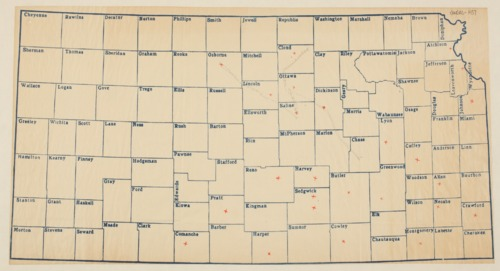 Demonstration train Kansas map - Page