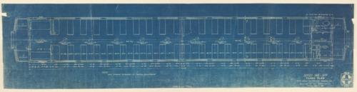 Santa Fe smoking car floor plan - Page