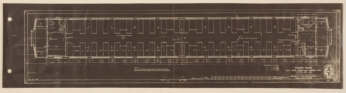 Santa Fe smoking car floor plan - Page