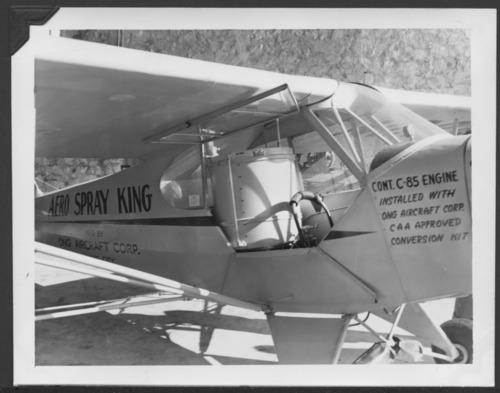 Aero Spray King plane, Manhattan, Kansas - Page