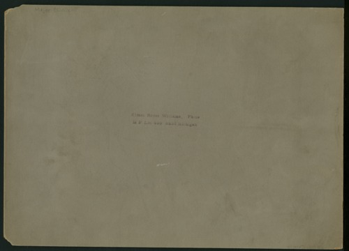 Hermon S. Major papers - Page