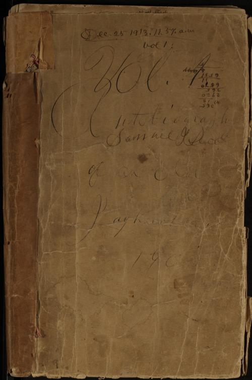 Samuel J. Reader's autobiography, volume 1 - Page