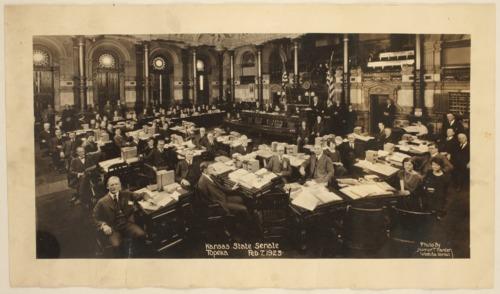 Kansas State Senate, Topeka, Kansas - Page