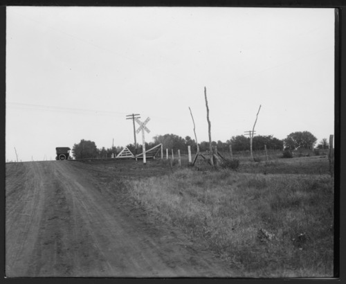Railroad crossing in Allen County, Kansas - Page