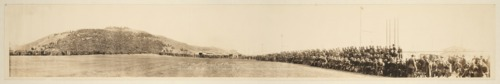 Football crowd at Camp Funston, Fort Riley, Kansas, on Thanksgiving Day - Page