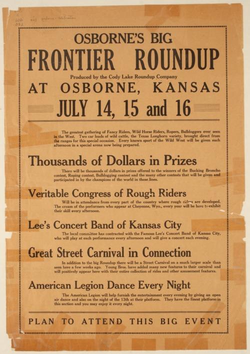 Osborne's Big Frontier Roundup - Page