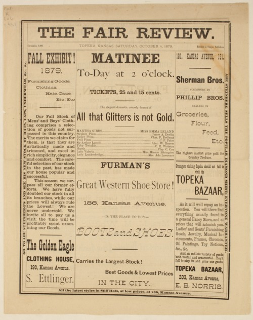 The Fair Review, October 4th, 1879 - Page