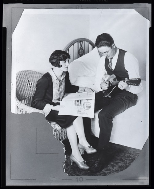 Virgil and Della Barnes - Page