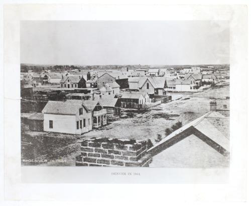 Denver in 1864 - Page