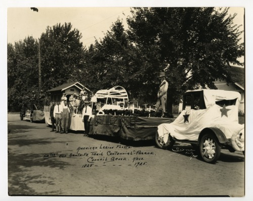 Santa Fe Trail centennial parade, Council Grove, Kansas - Page