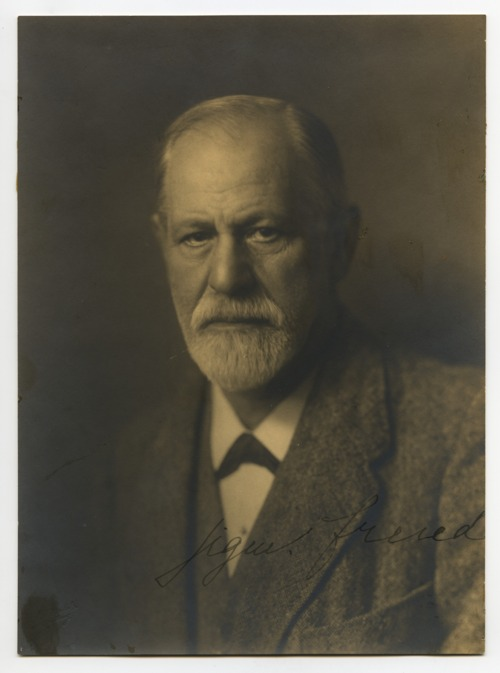 Portrait of Sigmund Freud - Page