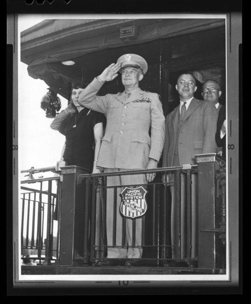 Eisenhower homecoming, Topeka, Kansas - Page