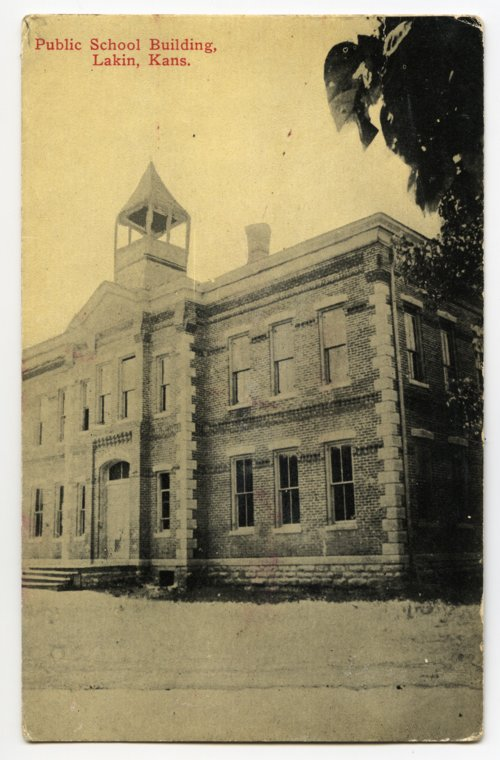 Public school building in Lakin, Kansas - Page