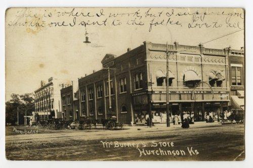 McBurney's store in Hutchinson, KS - Page