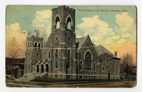 First Presbyterian church in Chanute, Kansas - Page