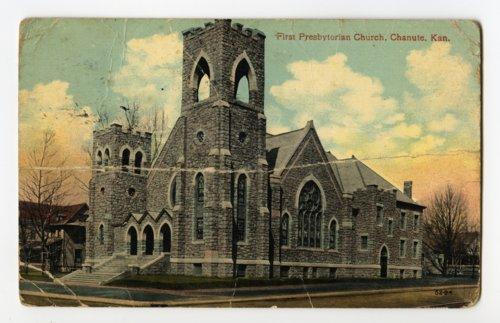 First Presbyterian church in Chanute, Kansas - Page