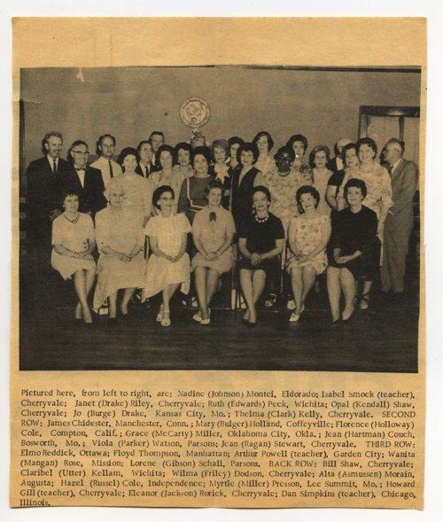Cherryvale High School class reunion in Cherryvale, Kansas - Page