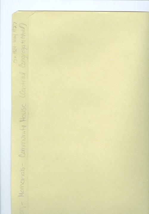 Charles M. Sheldon memorials - Page