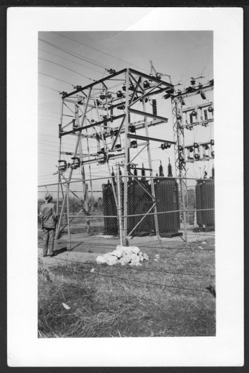 Electrical substation in Abilene, Kansas - Page