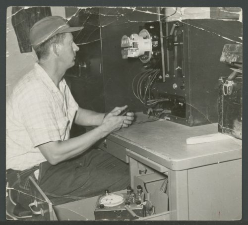 Walter Red Conner, a DS&O Rural Electric Cooperative employee - Page