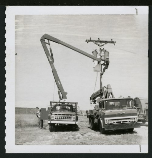 DS&O Rural Electric Cooperative's electrical line crew - Page