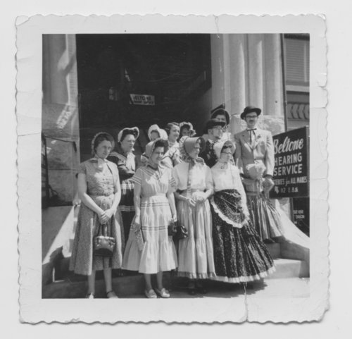 Crane and Company employees dressed for the Kansas Territorial Centennial - Page
