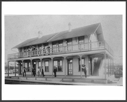 Santa Fe, Prescott, and Phoenix Railway general office, Prescott, Arizona - Page
