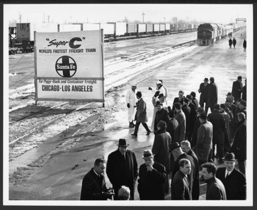 Atchison, Topeka & Santa Fe Railway Company's Super C train - Page