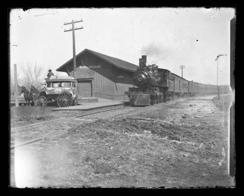 Atchison, Topeka and Santa Fe Railway Company depot, Burlingame, Kansas - Page