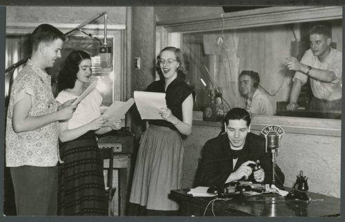 KMUW radio room, Wichita, Kansas - Page