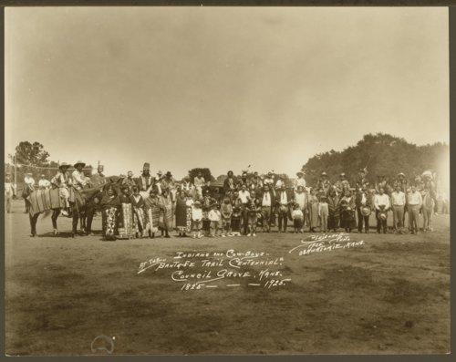 Santa Fe Trail centennial, Council Grove, Kansas - Page