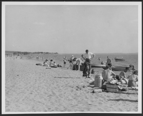 Swimmers at beach - Page