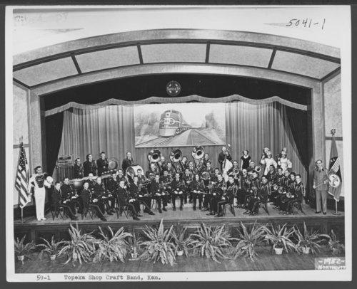Atchison, Topeka and Santa Fe Railway Company band, Topeka, Kansas - Page