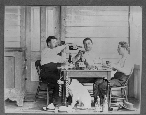 Poker game, Olpe, Kansas - Page