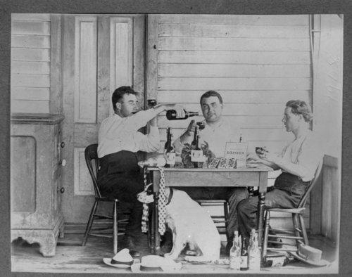 Poker game, Olpe, Kansas - Page