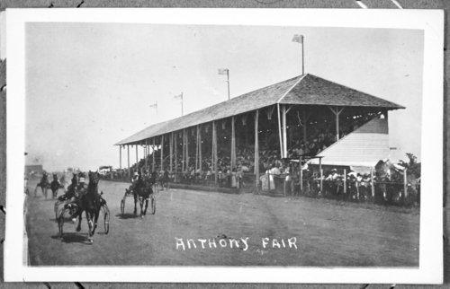 Sulky race, Anthony, Kansas - Page