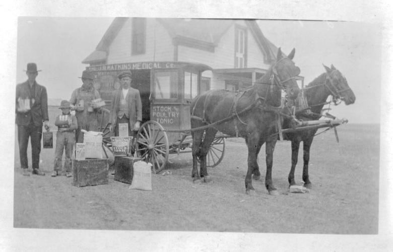 J.R. Watkins Medical wagon, Eureka, Kansas - Page