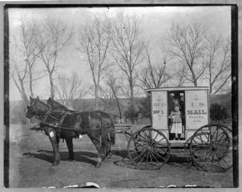 Rural Free Delivery wagon, Maple Hill, Kansas - Page