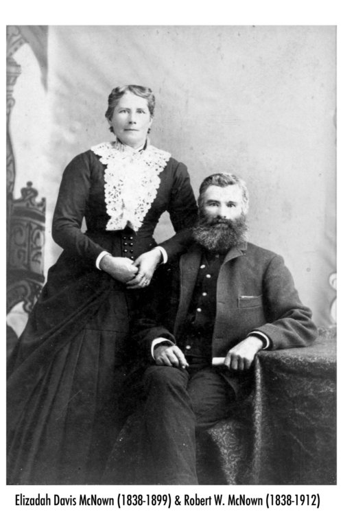 Robert William McNown and Elizadah J. Davis McNown - Page
