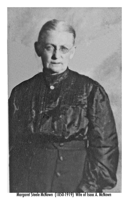 Margaret Steele McNown - Page