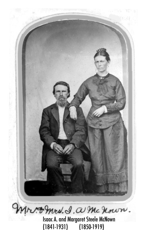 Isaac Aldebert McNown and Margaret Steele McNown - Page