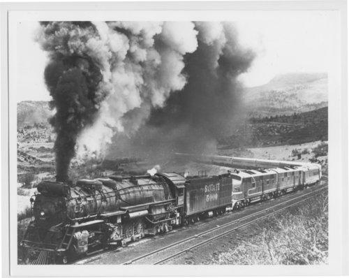 Atchison, Topeka & Santa Fe Railway Company's Super Chief, Wooten, Colorado - Page