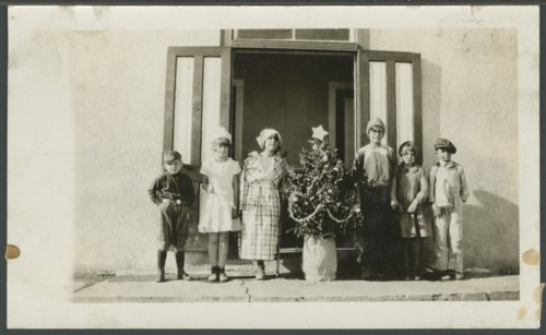 Christmas program at a school near Sharon Springs, Kansas - Page